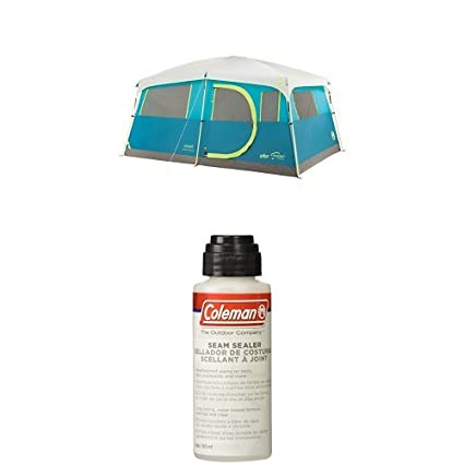 Coleman Tenaya Lake Fast Pitch 8-Person Cabin Tent with Closet with Seam Sealer  sc 1 st  Amazon.com & Amazon.com : Coleman Tenaya Lake Fast Pitch 8-Person Cabin Tent with ...