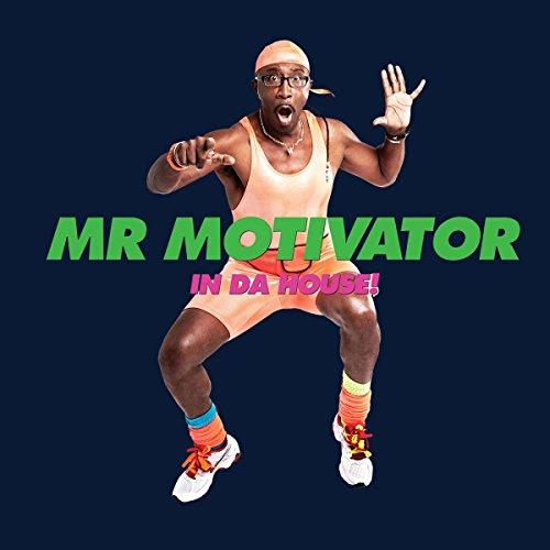 Mr Motivator In Da House Women's Hooded Sweatshirt Navy blue