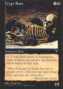 Magic: the Gathering - Crypt Rats - Visions ()