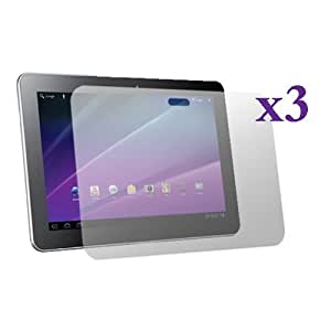 Fosmon Crystal Clear Screen Protector Shield for Samsung Galaxy Tab 10.1 Tablet - 3 Pack