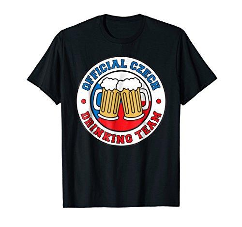 (Official Czech Drinking Team Beer Czech Republic Flag Shirt)