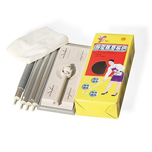 Microfiber Mop Cleaning Supplies, Disposable Vacuum Paper Floor Wipes Thread Flat Mop ()