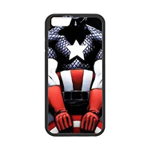 Captain America Iphone6 4.7 inch Phone Case Black white Gift Holiday Gifts Souvenir Halloween Gift Christmas Gifts TIGER157117