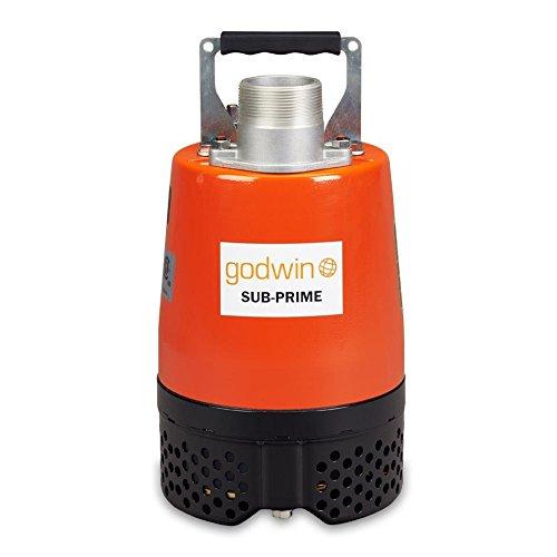 "Godwin GSP05-115V Series Submersible Dewatering Pump, Single Phase, 1/2 hp, 115V, 2"""