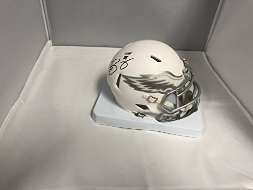 Trey Burton Signed Autographed Philadelphia Eagles RARE ICE Speed Mini Speed Helmet COA & Hologram