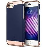 Caseology [Savoy Series] iPhone 8 / iPhone 7 Case - [Stylish Design] - Navy Blue