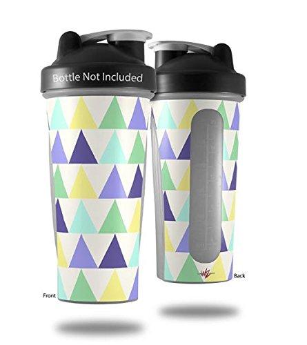 三角形Cool – デカールスタイルスキンラップFits Blender Bottle 28oz (ボトルは含まれません B06X94CLY8