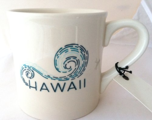 Starbucks Hawaii Ceramic Coffee Mug 14 ounce Made in USA 2013