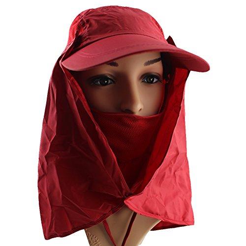 ezyoutdoor-flap-face-mask-mesh-jungle-cap-bush-hat-wood-cap-quick-dry-bush-hat-long-neck-for-picnic-