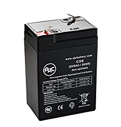 Emerson UPS400 6V 5Ah UPS Battery - This is an AJC Brand Replacement