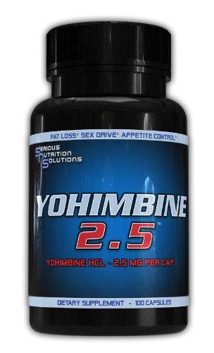 Yohimbine 2,5, (Yohimbine HCL) 2.5g