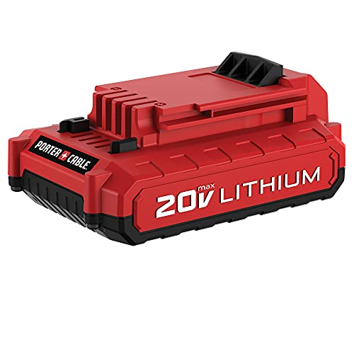 PORTER-CABLE 20V MAX Lithium Battery, 2.0-Amp Hour (PCC682L)
