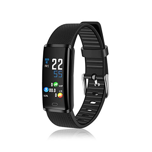 Miseku Smart Watch Waterproof Wristband Colorful Screen Heart Rate Monitor Bracelet