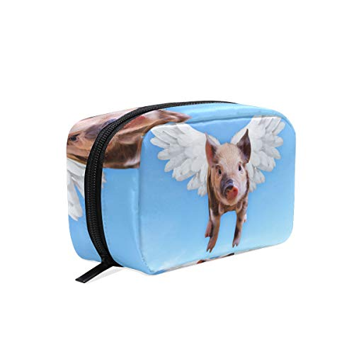 Toiletry Bag Chien Animal Mignonne Womens Beauty Makeup Case Brush Cosmetic ()