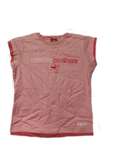 (Carolina Panthers Pink NFL Youth Girls Short Sleeve T-Shirt (Xlarge 16))