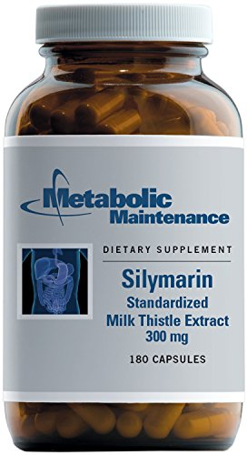 Metabolic Maintenance – Silymarin – Standardized Milk Thistle for Liver Support, 180 Capsules Review