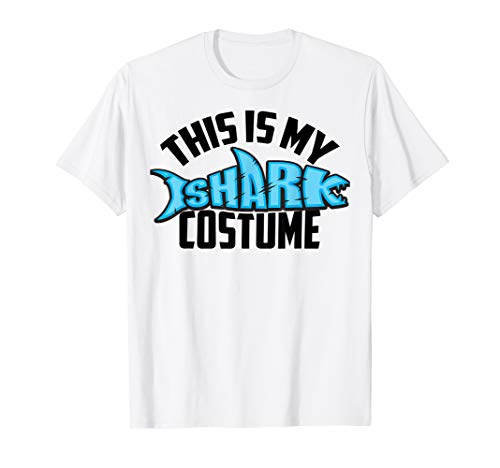 This Is My Shark Costume Shirt | Sea Creature Fans Gag Gift