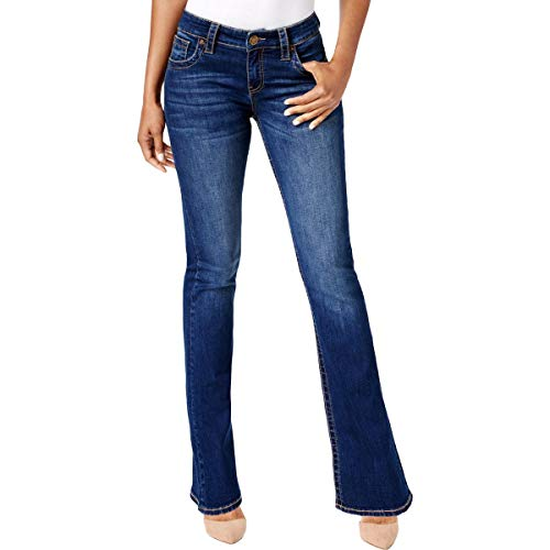 KUT from the Kloth Womens Denim High Rise Bootcut Jeans Blue 0