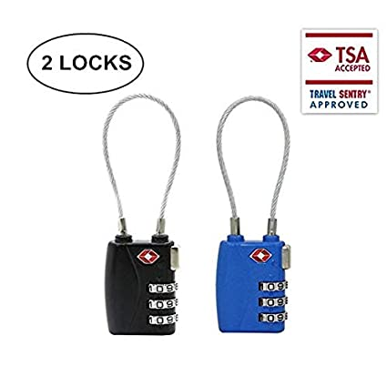 05d7a27a652a Amazon.com: Tsa Lock Master Approved Luggage Combination Locks ...
