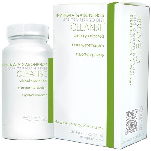 Creative Bioscience africaine Cleanse Diet Supplement, Mango, 60 Count