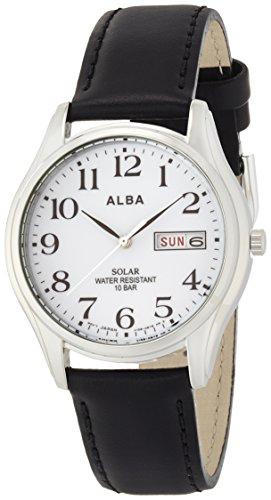 [알바]ALBA 손목시계 솔라 하드렉스 일상생활용 강화 방수(10기압) 페어 AEFD543 맨즈