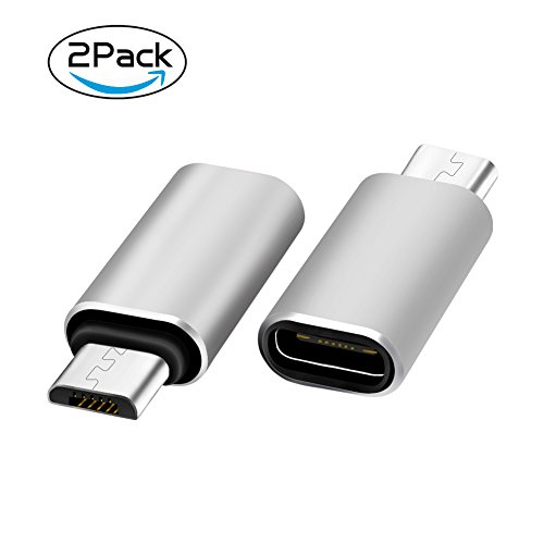 Alloy Type-C Male TO Female Micro USB Adapter Converter Connector - 1