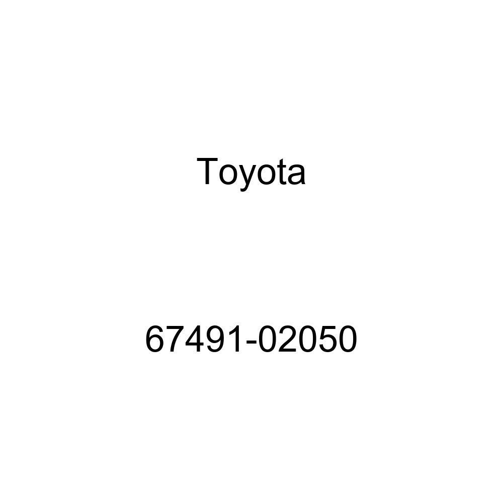 Toyota 67491-02050 Door Window Bracket Garnish