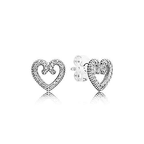 Pandora Women Silver Stud Earrings - 297099CZ