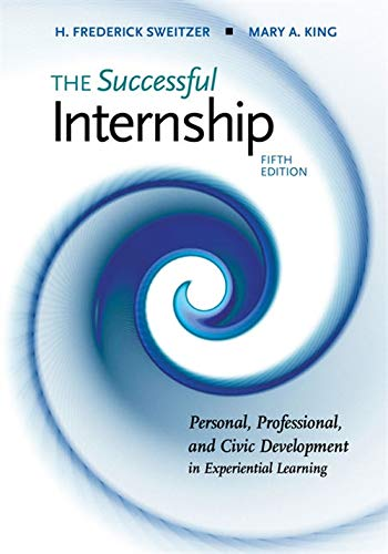 The Successful Internship (HSE 163 / 264 / 272 Clinical Experience Sequence) from Brooks / Cole