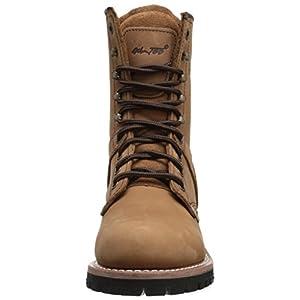 Ad Tec Women's 9″ Logger Brown-W Boot