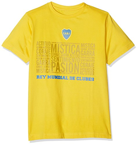 fan products of Boca Juniors official tee shirt Mistica yellow