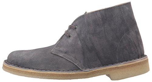 Uomo Suede Boot Desert Originals Grey Dark Clarks vwzgqBx