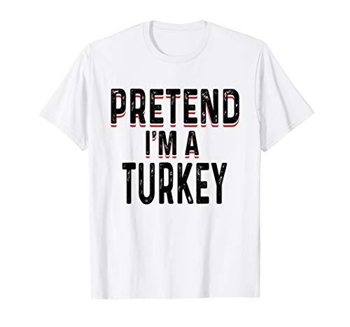 (Lazy Turkey Shirt Funny Easy Fast Halloween)