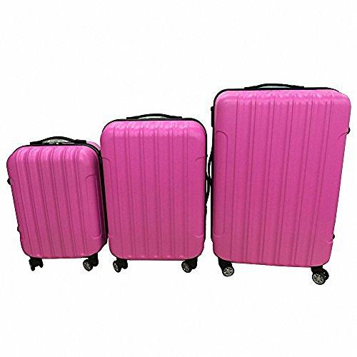 Z ZTDM 3 PCS Luggage Set 4 wheel ABS Travel Storage Suitcase