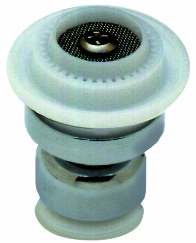 T&S Brass B-0199-22 Swivel Aerator, Dual Spray Pattern - Laminar Or Spray, 2.2 GPM, Thread Adapter Included by T&S Brass (Image #1)