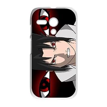 Angry Sasuke Wallpaper Motorola G Cell Phone Case White
