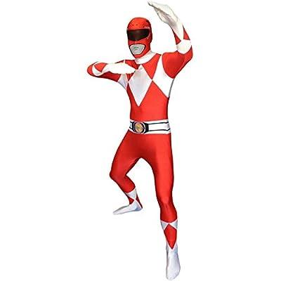 Official Black Power Ranger Morphsuit Costume - size Medium - 5'-5'4 (150cm-162cm)