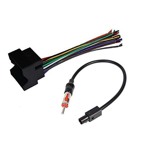 - CAR Stereo Radio Receiver CD Player AFTERMRKET Stereo Wiring Harness Radio Antenna Adapter for Select BMW Audi Dodge Pontiac Saturn VOLSKWAGEN Vehicles