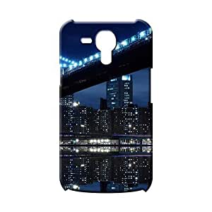 Samsung Galaxy S3 Mini Durability Plastic Fashionable Design phone back shell magnificent manhatten bridge at night