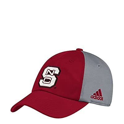 adidas NC State Wolfpack Coaches Sideline Climalite Adjustable Hat