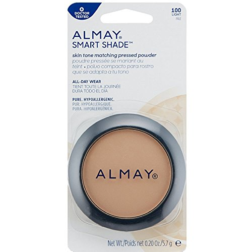 Almay Smart Shade Smart Balance Skin Balancing Pressed Powder, Light 100 0.20 oz Pack of 12