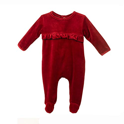 Baby Clothes Ruffle Sleep N Play Footie Coverall Romper Boy Girl Unisex Long Sleeve