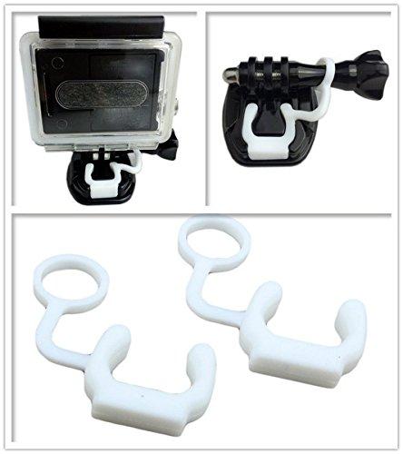 ASOCEA Camera Surfing Mount Compatible for Gopro Hero6/5 Black Hero 4 Silver APEMAN Lightdow Cymas Action Camera for Surfboard Skateboard Wakeboard