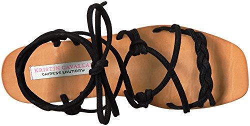 Black Women Tori Sandal Gladiator Kristin Chinese Cavallari Suede Laundry Aq6t0t