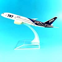 LTWAAXP Airplane Model Building 16CM Boeing 787 ANA Metal Alloy Model Plane Aircraft Model Toy Airplane Birthday Gift
