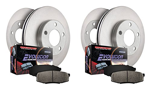 Power Stop KOE6136 Autospecialty Daily Driver OE Brake Kit by Power Stop