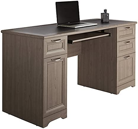 Realspace Magellan Collection Managers Desk, Gray Item 751724