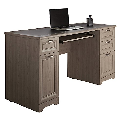 Managers Desk - Realspace Magellan Collection Managers Desk, Gray Item # 751724