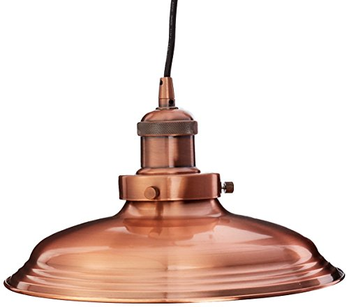 Spun Copper Pendant Light