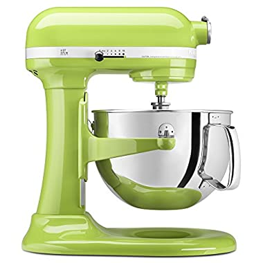 KitchenAid Professional 600 Series KP26M1XER Bowl-Lift Stand Mixer, 6 Quart, Green Apple